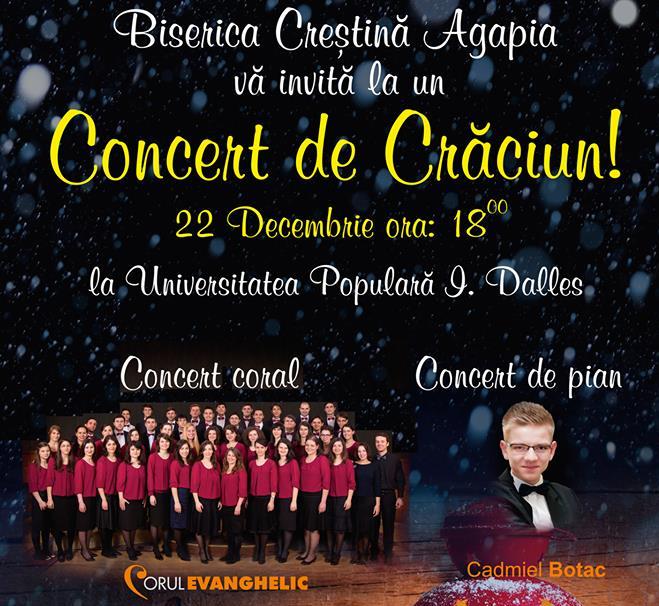 """foto Concert de Craciun """"Dar din Glorii"""""""