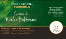 """CONCERTE BUCURESTI """"Cantari de Nicolae Moldoveanu"""" - CLICK AICI PENTRU DETALII"""