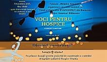 """CONCERT """"VOCI PENTRU HOSPICE"""" - CLICK AICI PENTRU DETALII"""