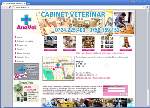 1||, Anavet. Cabinet veterinar - CLICK AICI PENTRU DETALII