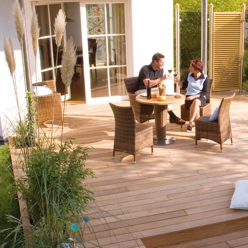 foto Garapa -  decking - lemn terasa
