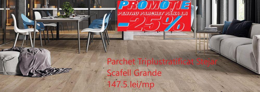 foto Parchet Triplustratificat Stejar Scafell Grande scurt