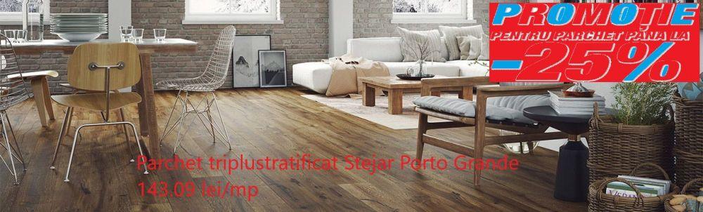 foto Parchet Tripllustratificat Stejar Porto Grande scurt