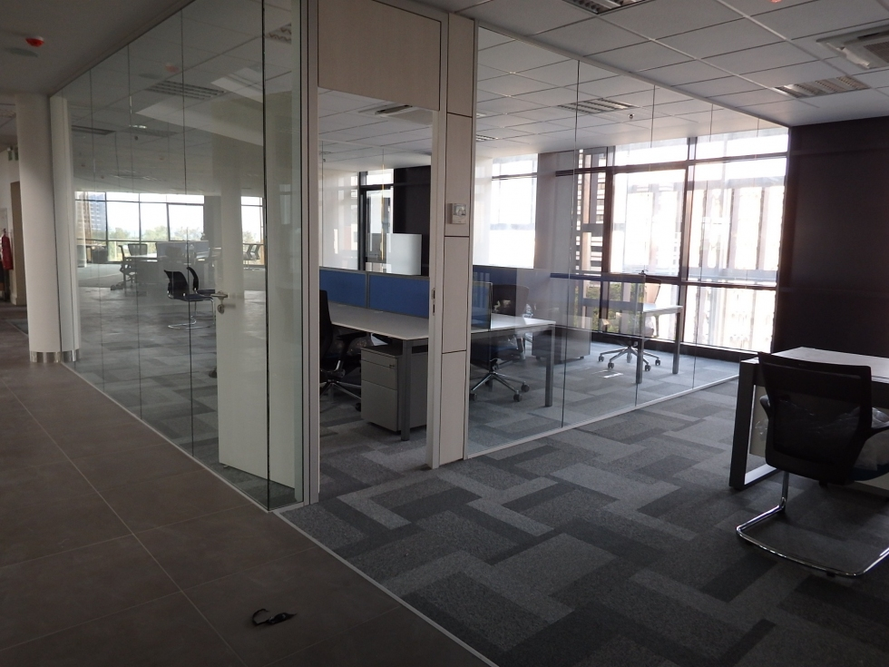 TechoPartitions,Project NMB Tanzania,partition Wall, Glass Partitions, Room  Dividers, Office Partition Wall, Romania, Buchares